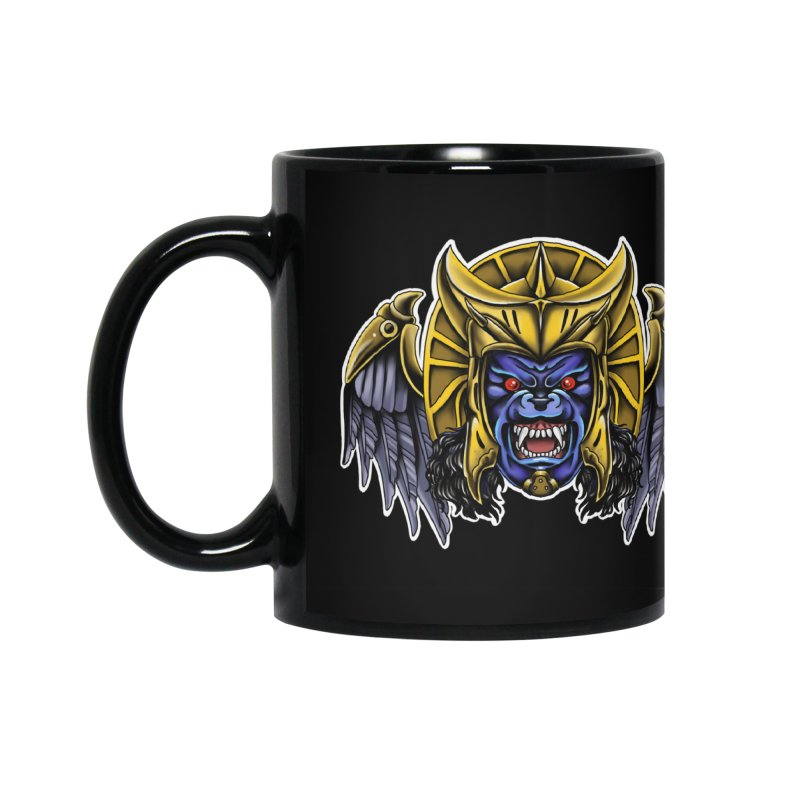Goldar Accessories Mug by Houndstooth