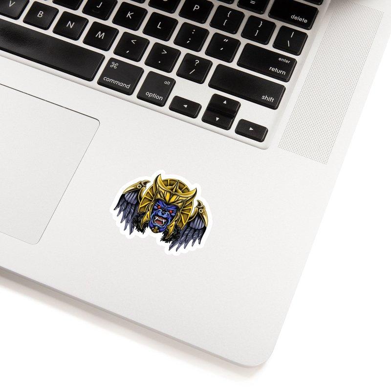 Goldar Accessories Sticker by Houndstooth