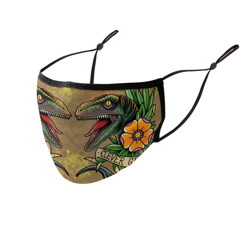 Clever Girl Accessories Face Mask by Houndstooth