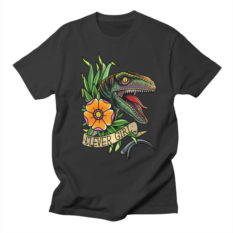 Clever Girl Men's T-Shirt by Houndstooth