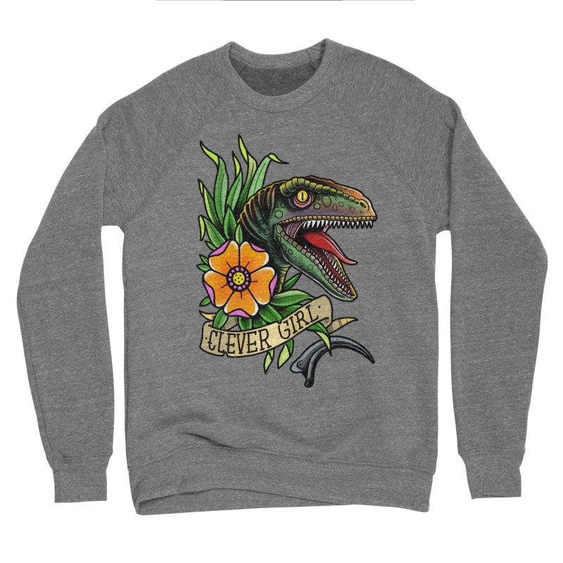 Clever Girl Men's Sweatshirt by Houndstooth