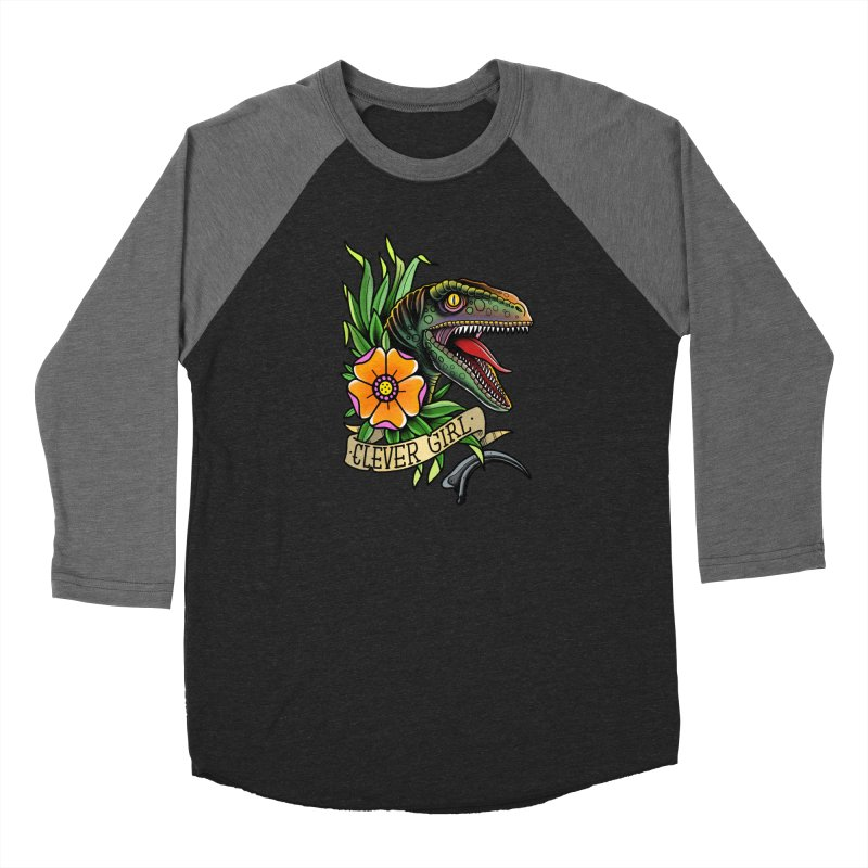 Clever Girl Men's Longsleeve T-Shirt by Houndstooth