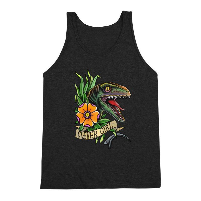 Clever Girl Men's Tank by Houndstooth
