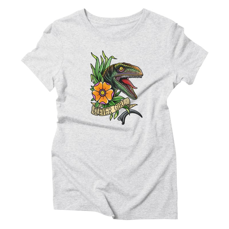 Clever Girl Women's T-Shirt by Houndstooth