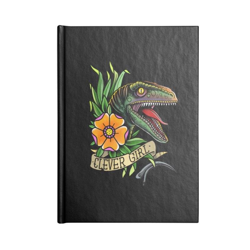 Clever Girl Accessories Notebook by Houndstooth