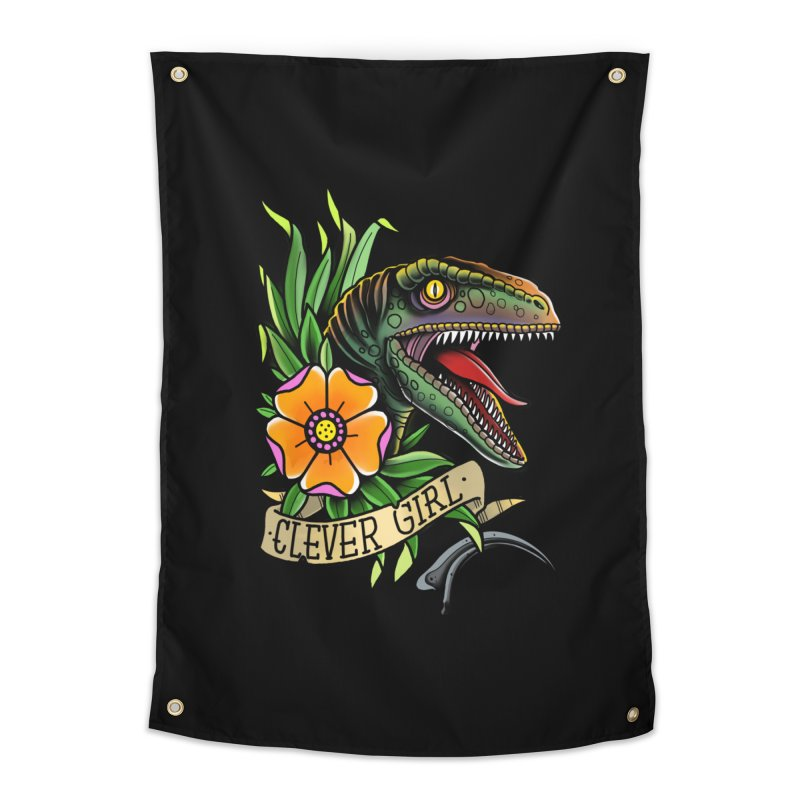 Clever Girl Home Tapestry by Houndstooth