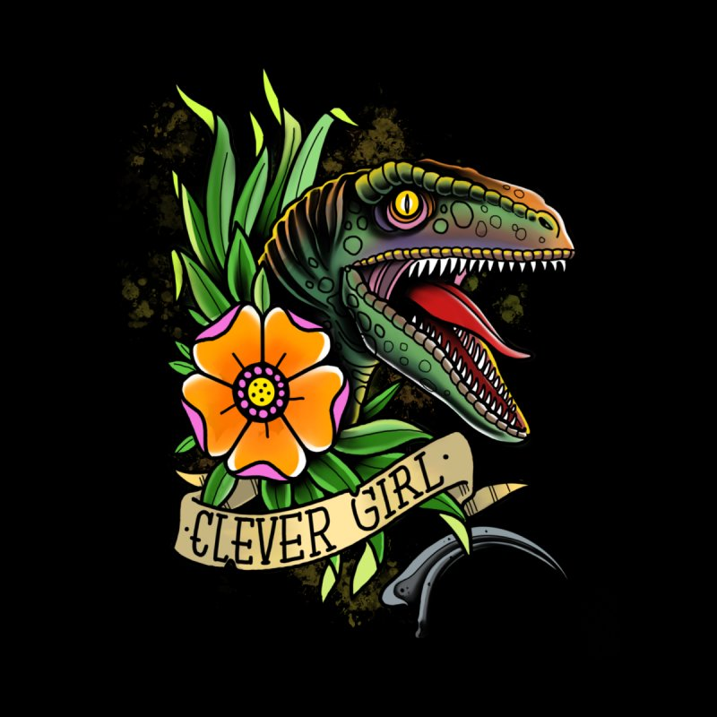Clever Girl Home Blanket by Houndstooth