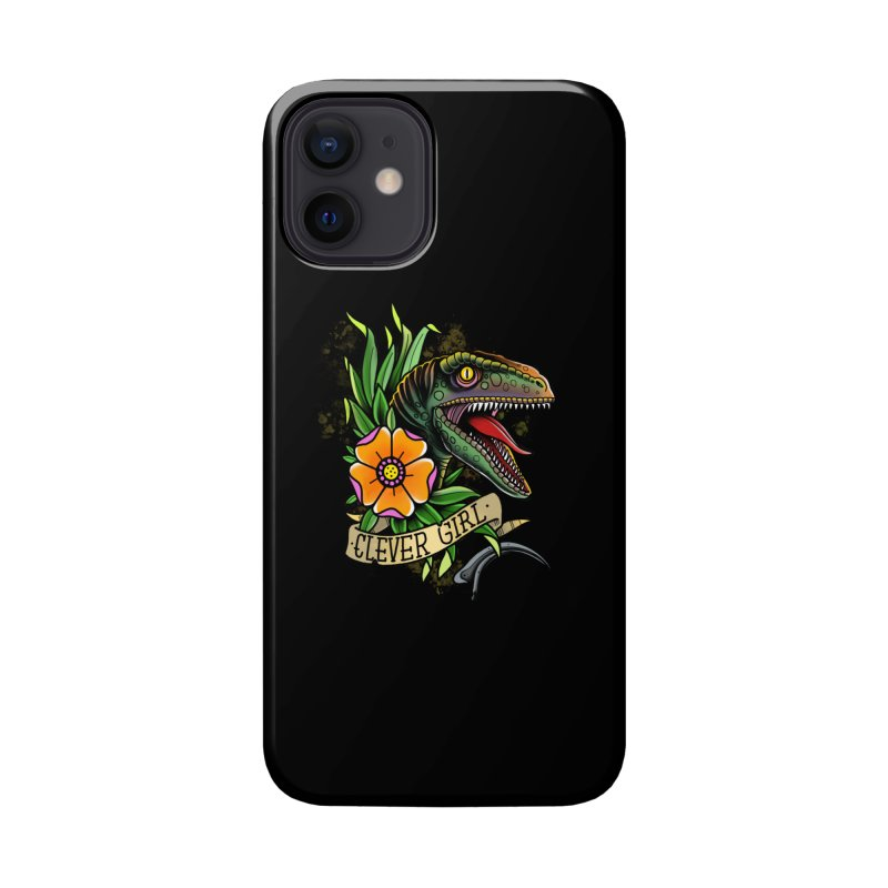 Clever Girl Accessories Phone Case by Houndstooth
