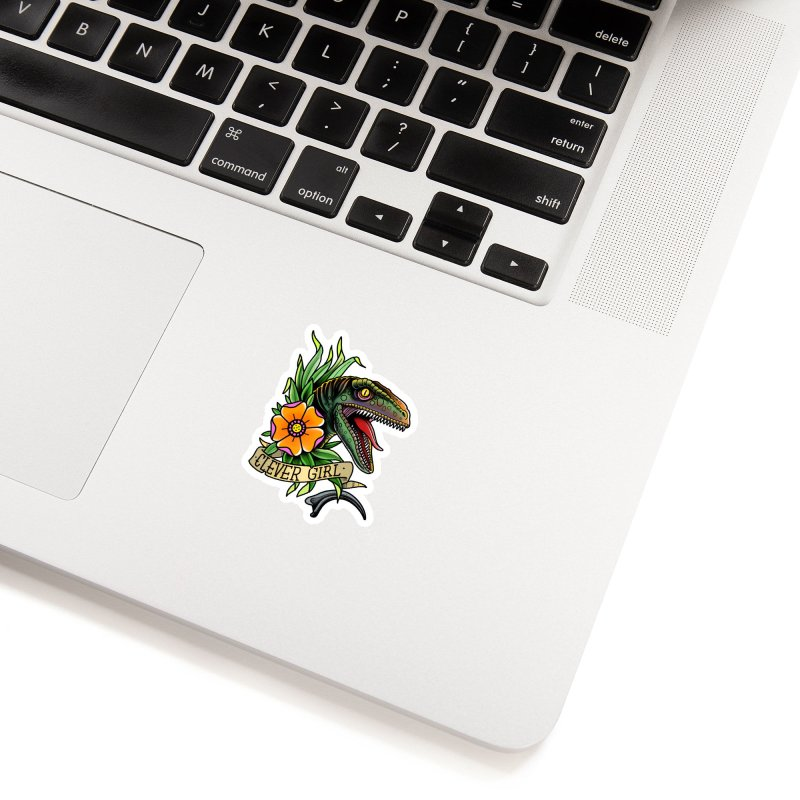 Clever Girl Accessories Sticker by Houndstooth