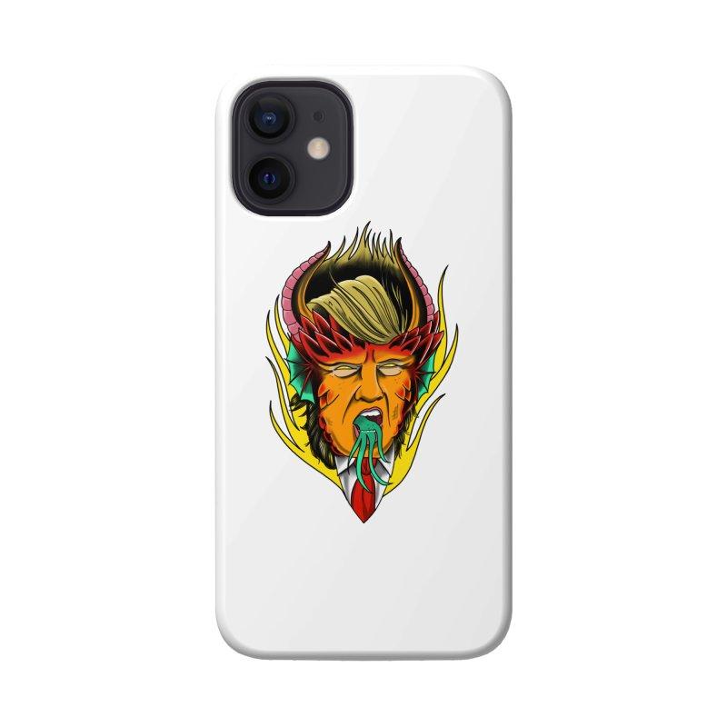 Orange Diablo Accessories Phone Case by Houndstooth