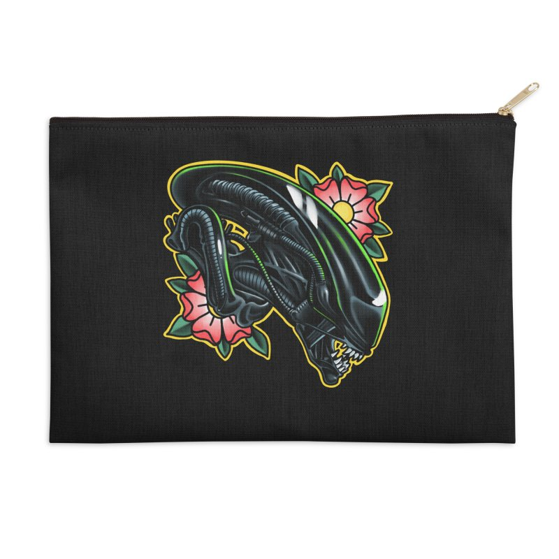 Xenomorph Accessories Zip Pouch by Houndstooth