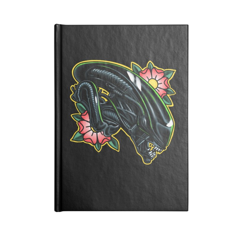 Xenomorph Accessories Notebook by Houndstooth