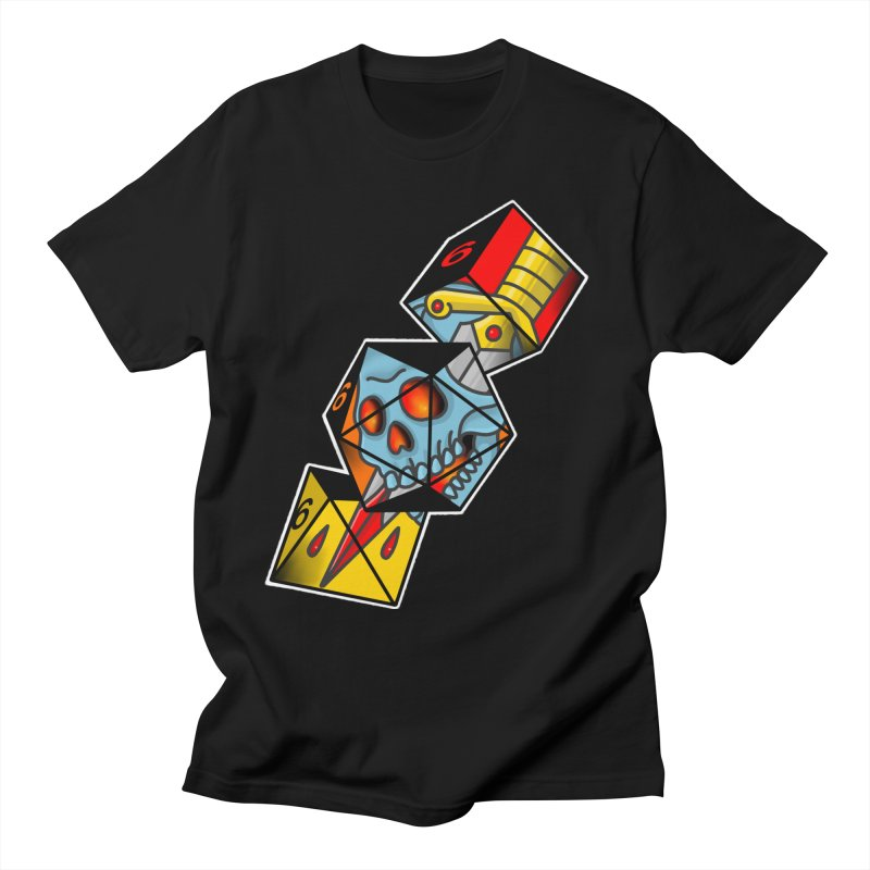 Roll For Damage Men's T-Shirt by Houndstooth