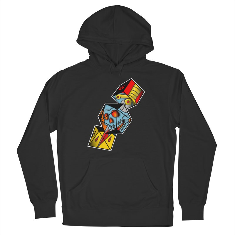 Roll For Damage Men's Pullover Hoody by Houndstooth