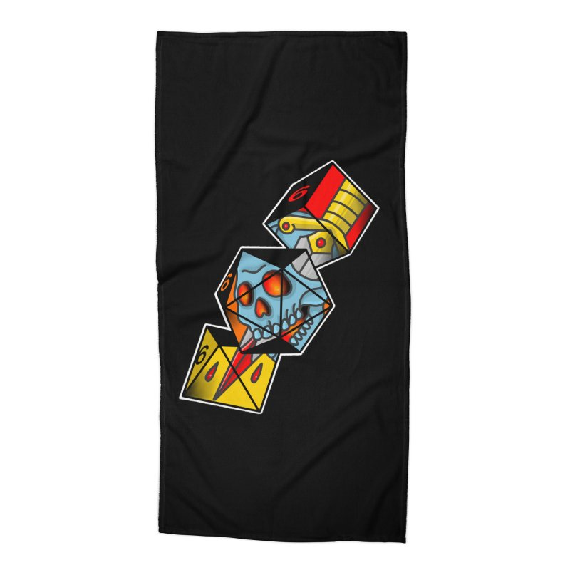 Roll For Damage Accessories Beach Towel by Houndstooth