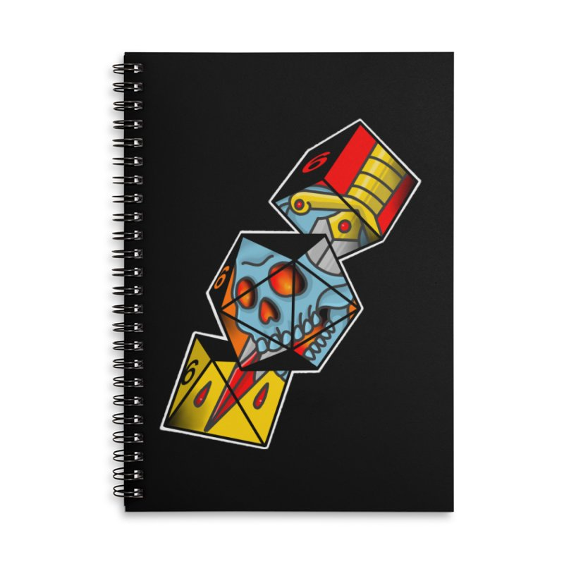 Roll For Damage Accessories Notebook by Houndstooth