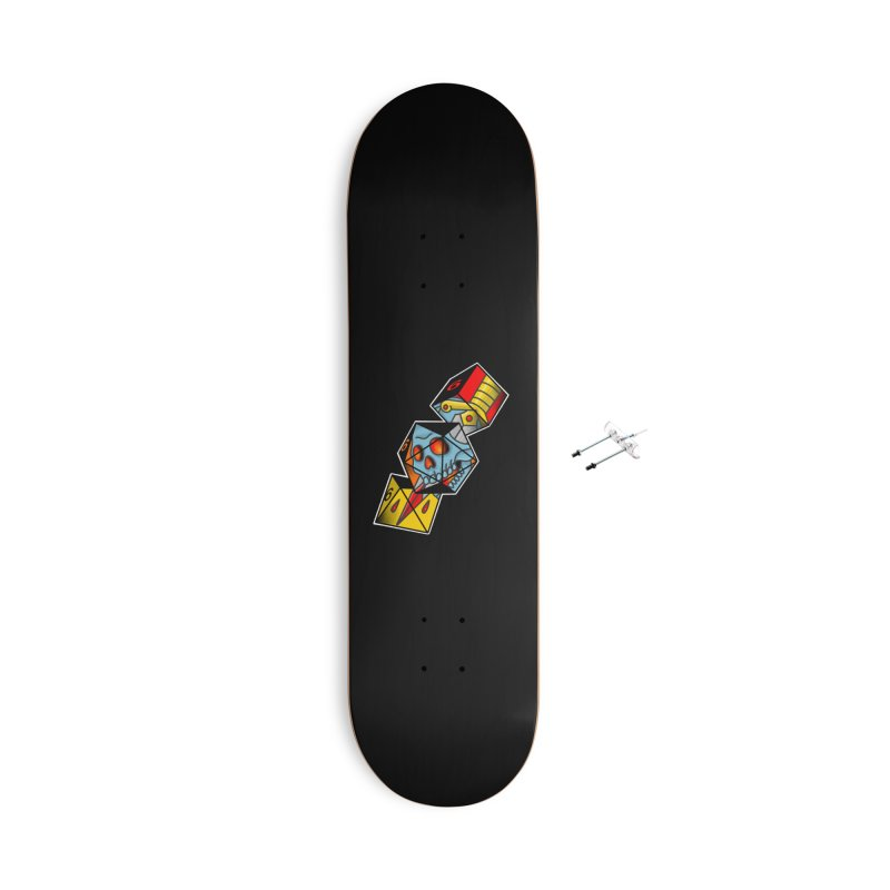 Roll For Damage Accessories Skateboard by Houndstooth