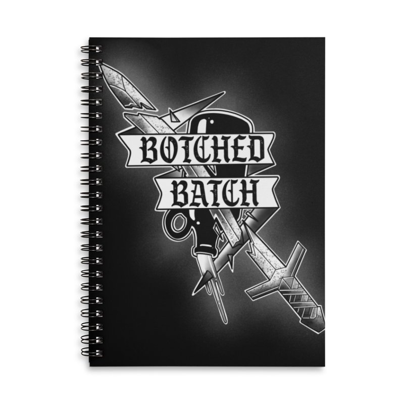 The Botched Batch Accessories Notebook by Houndstooth