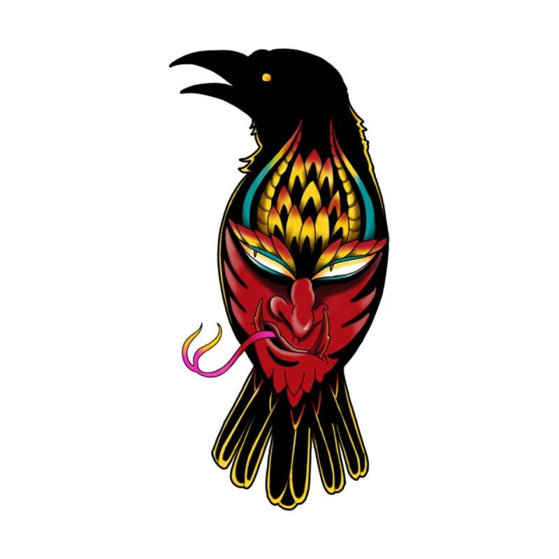 Raven Men's V-Neck by Houndstooth