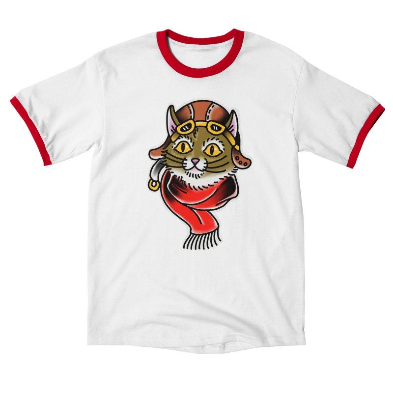 Furry Pilot Women's T-Shirt by Houndstooth