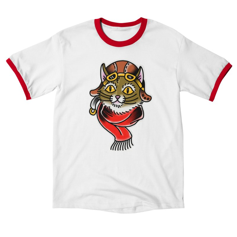Furry Pilot Men's T-Shirt by Houndstooth