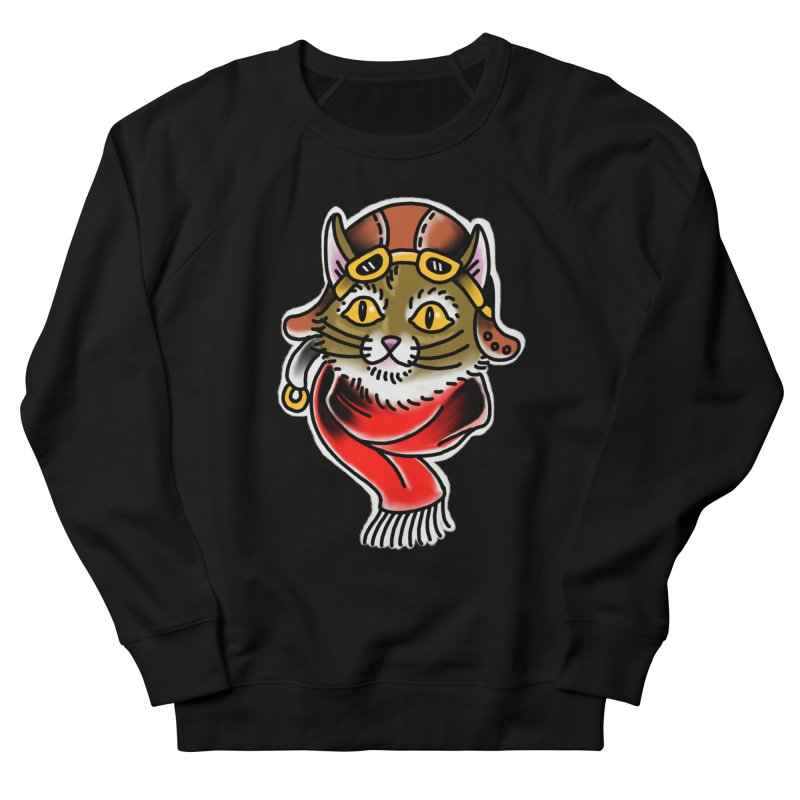 Furry Pilot Men's Sweatshirt by Houndstooth