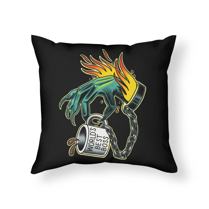 Prisoner of The Office Home Throw Pillow by Houndstooth