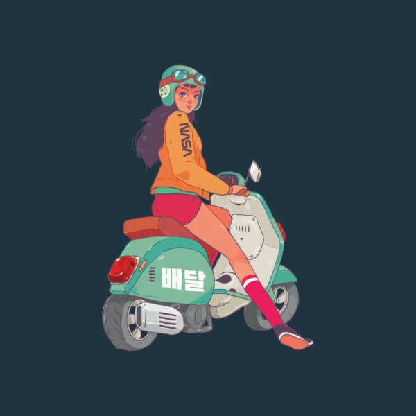 Design for Vespa Rider