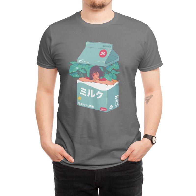 Milk Box Men's T-Shirt by HowlerSupply's Artist Shop