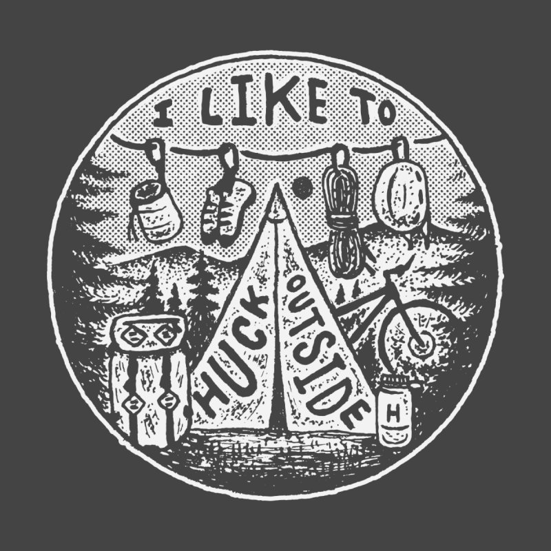 I like to Huck Outside Accessories Sticker by Huck Adventures Swag