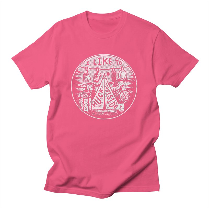 I like to Huck Outside Men's T-Shirt by Huck Adventures Swag