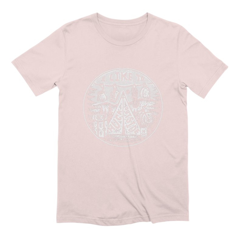 I like to Huck Outside Men's Extra Soft T-Shirt by Huck Adventures Swag