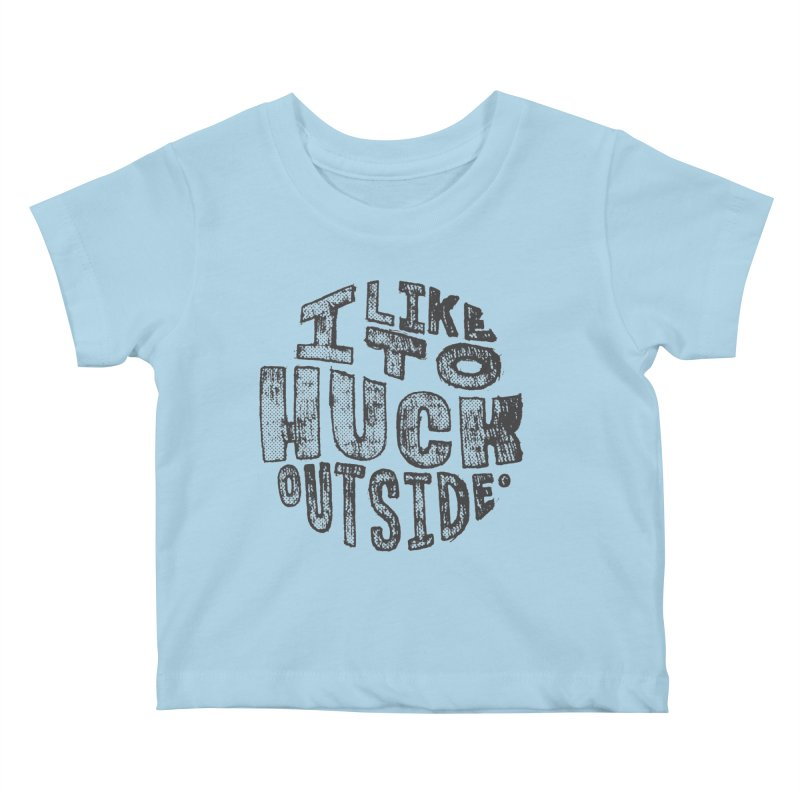 Kids None by Huck Adventures Swag