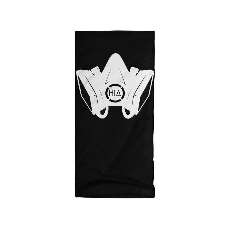 Humanity In Art Mask - White Accessories Neck Gaiter by The Humanity In Art Shop