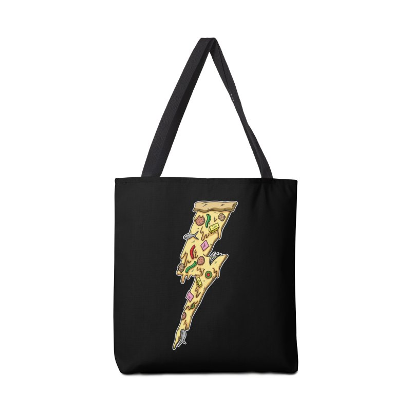 Pizza Bolt!  Accessories Bag by Humor Tees