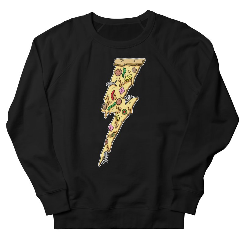 Pizza Bolt!  Women's Sweatshirt by Humor Tees