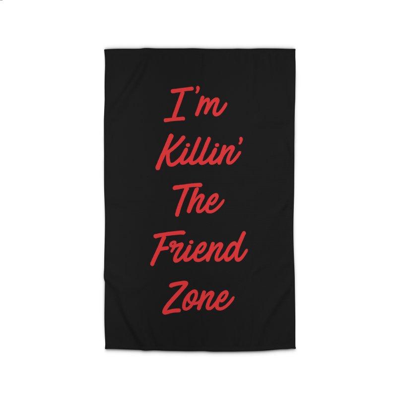 I'm Kilin' The Friend Zone Home Rug by Humor Tees