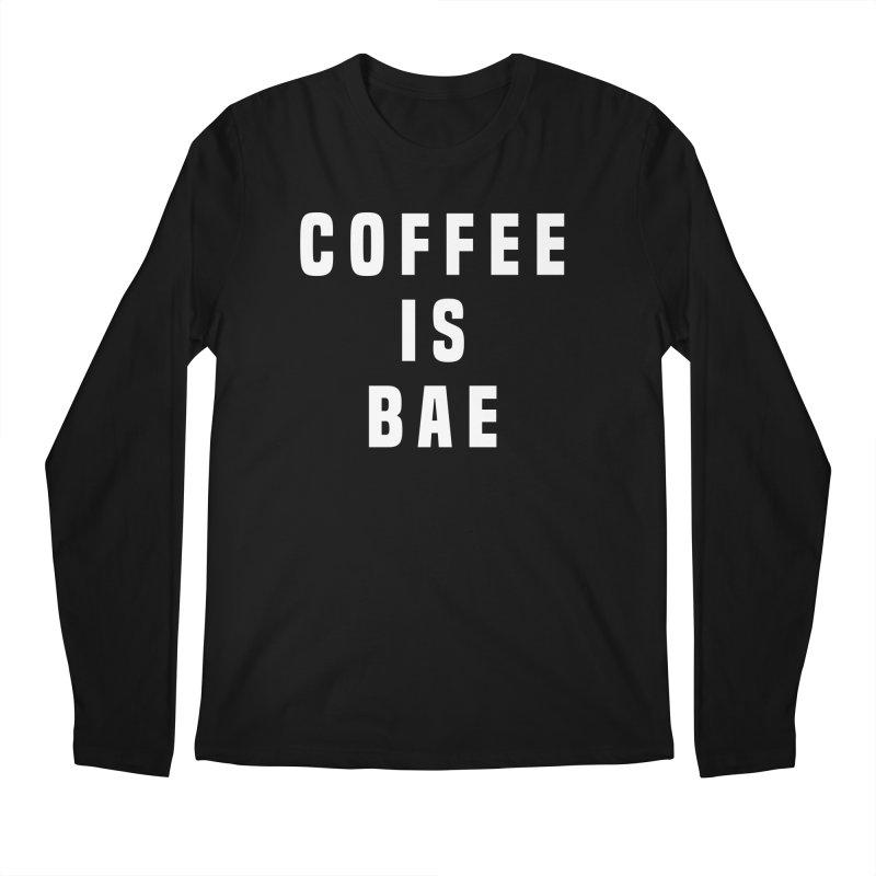 COFFEE IS BAE Men's Longsleeve T-Shirt by Humor Tees