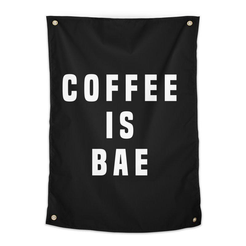 COFFEE IS BAE Home Tapestry by Humor Tees