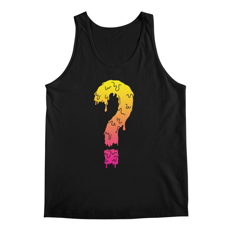 Dripping Question 2 Men's Tank by HUMOR TEES