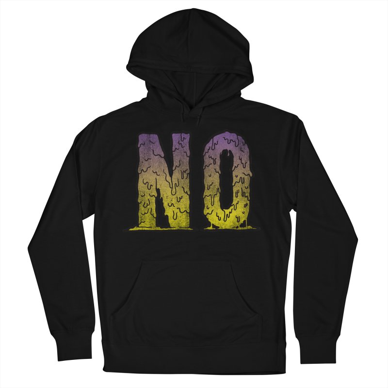 NO! Women's Pullover Hoody by HUMOR TEES