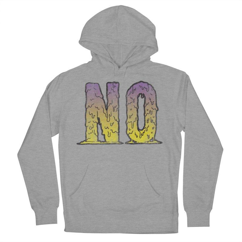 NO! Men's Pullover Hoody by HUMOR TEES