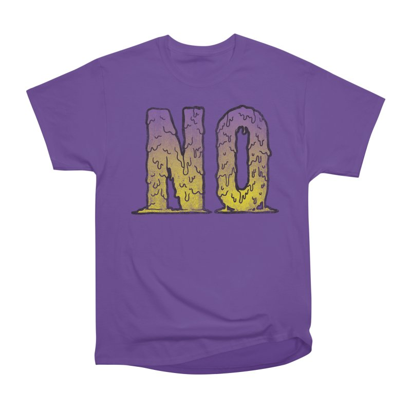 NO! Women's Classic Unisex T-Shirt by Humor Tees