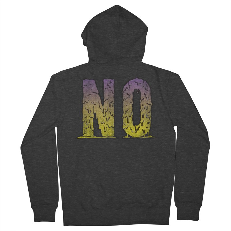 NO! Women's Zip-Up Hoody by Humor Tees