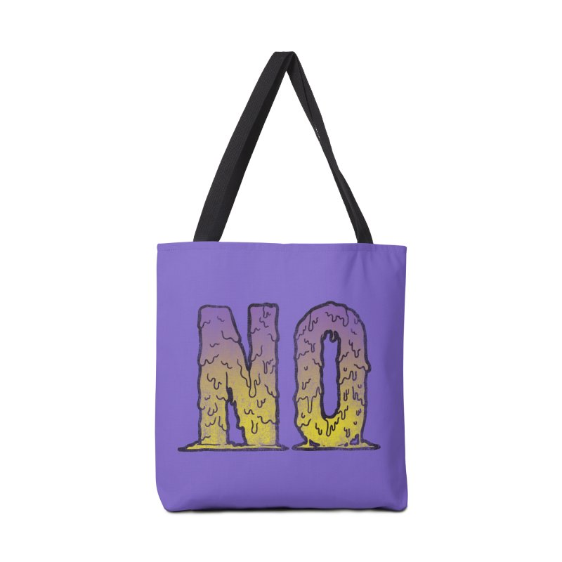 NO! Accessories Bag by HUMOR TEES