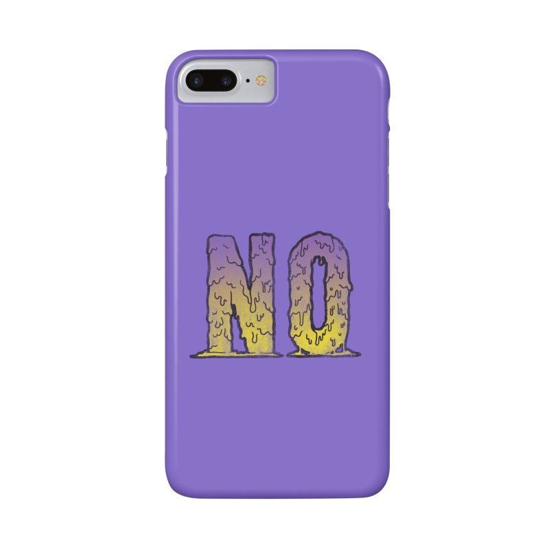 NO! Accessories Phone Case by HUMOR TEES