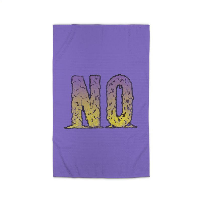 NO! Home Rug by HUMOR TEES