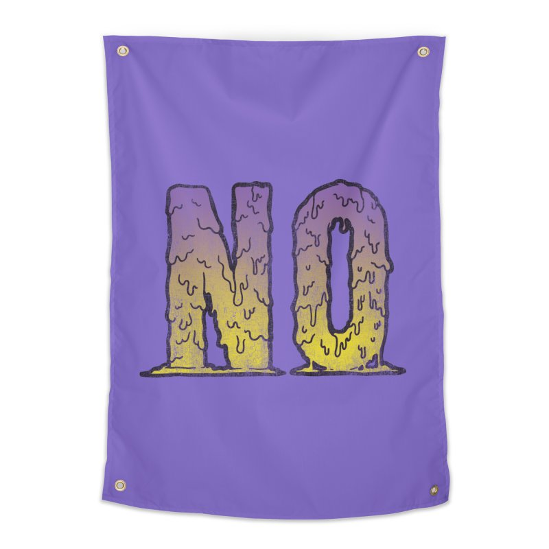 NO! Home Tapestry by Humor Tees