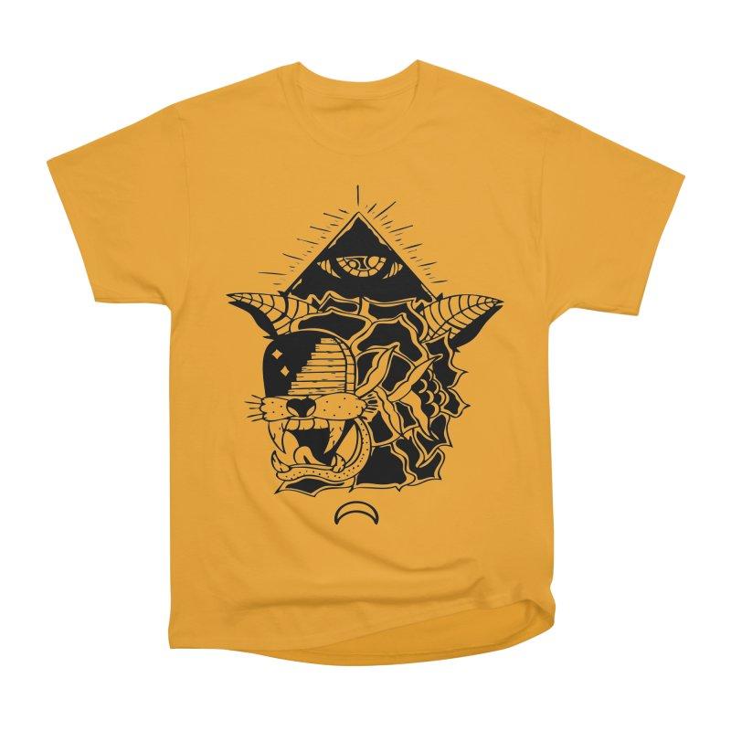 Traditional Black Women's Heavyweight Unisex T-Shirt by Hvmos Artist Shop
