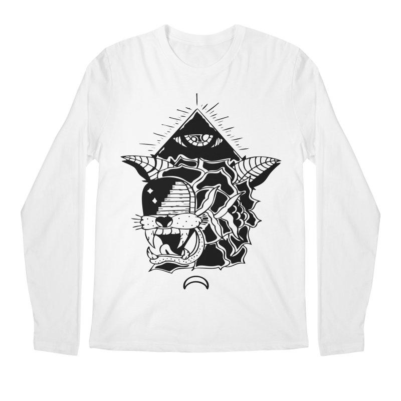Traditional Black Men's Regular Longsleeve T-Shirt by Hvmos Artist Shop